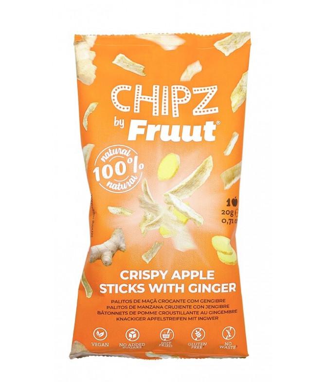 Fruut Chipz Maçã Gengibre 20gr