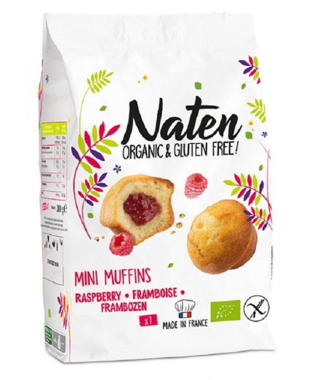 Naten Muffin Relleno Frambuesa BIO 200gr T