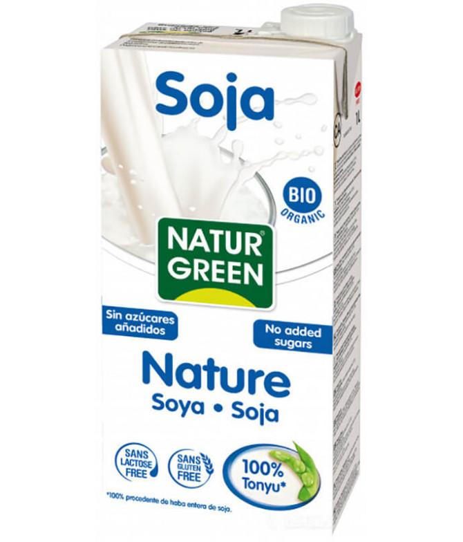 NaturGreen Bebida Soja BIO 1L t