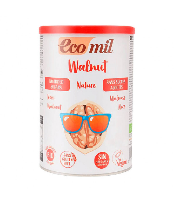 Ecomil Bebida Nuez Polvo BIO 400gr T