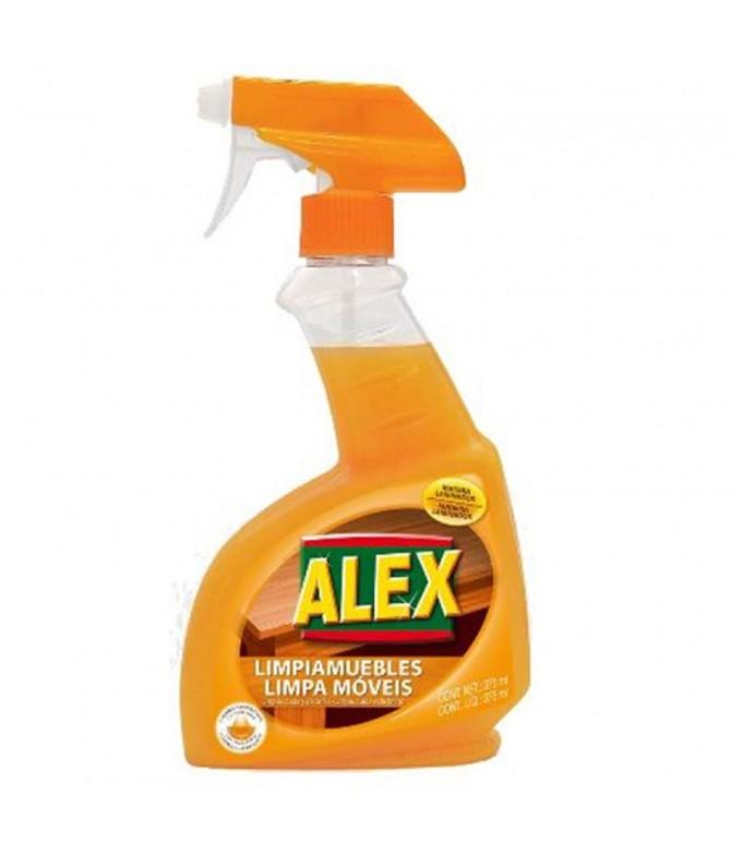 Alex Spray Limpa Móveis Laranja 375 ml