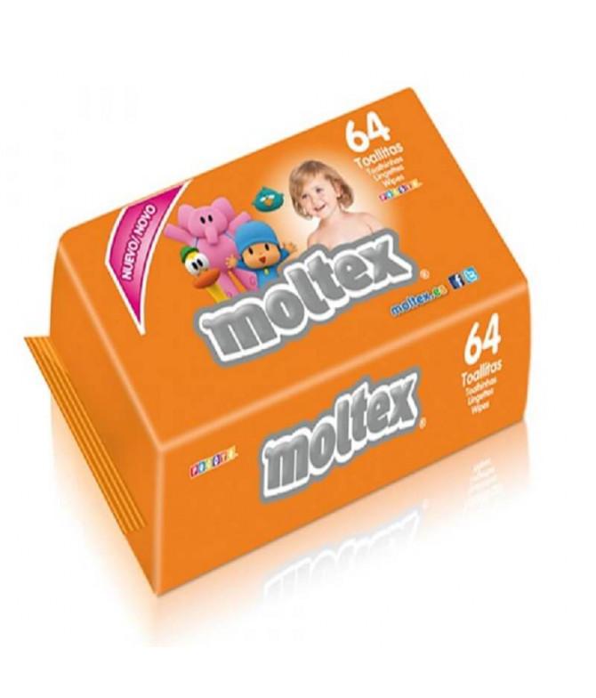 Moltex Toalhita Pocoyo 64un