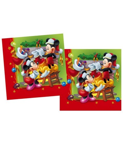 Guardanapos de Papel Mickey Christmas 33cm