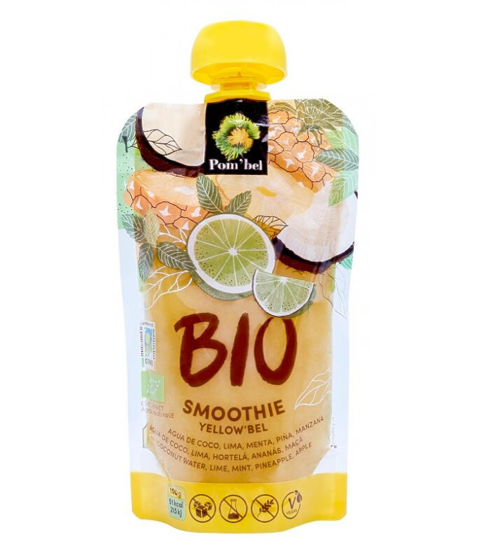 Pom'bel Smoothie Yellow'bel BIO 110gr
