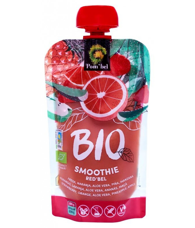 Pom'bel Smoothie Red'bel BIO 110gr