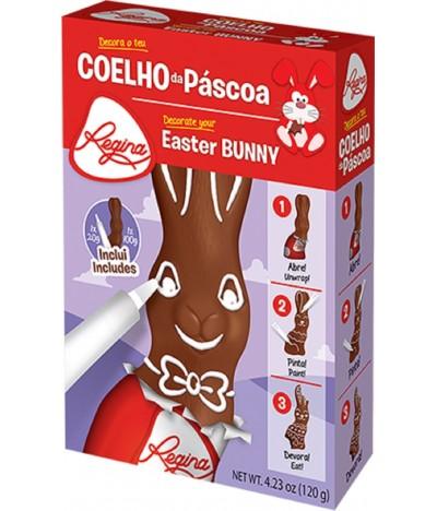 Kit Coelhinho de Chocolate de Leite e Lápis Pasteleiro Regina