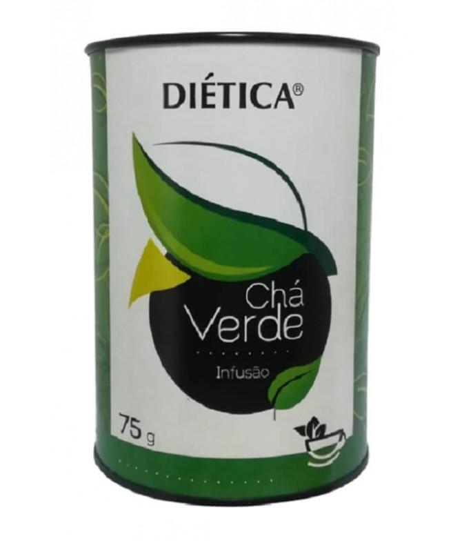 Diética Chá Verde Folha 75gr