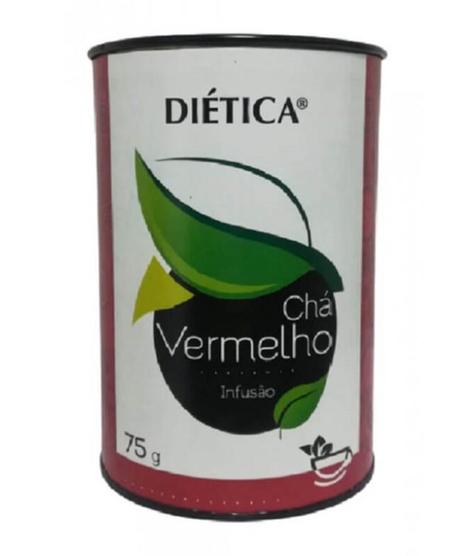 Diética Chá Vermelho Folha 75gr