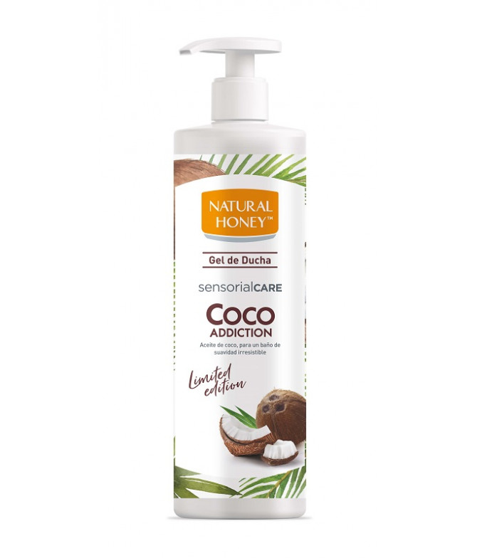 Natural Honey Gel Banho Coco 750ml