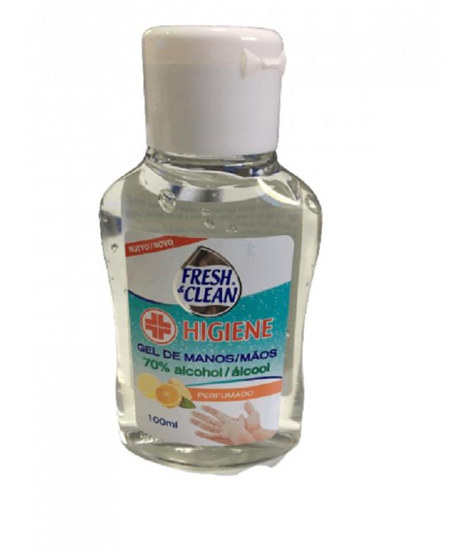 Fresh & Clean Gel Álcool Higiene 100ml