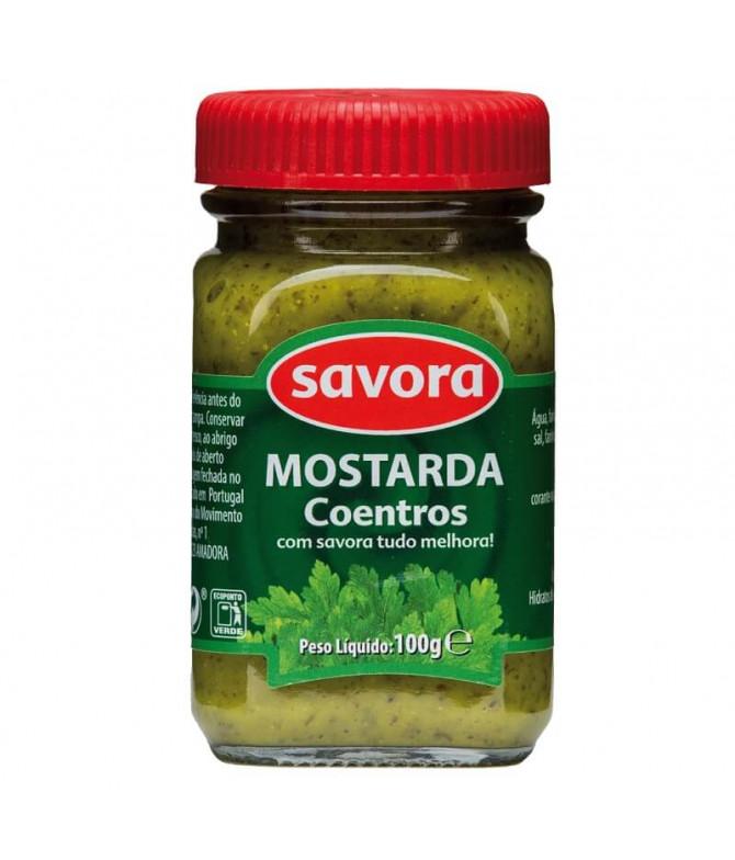 Savora Mostarda Coentros 100gr