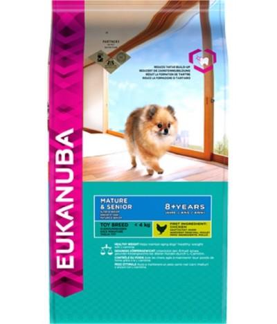 Ração 1,5kg para Cão Mature & Senior Toy Breed
