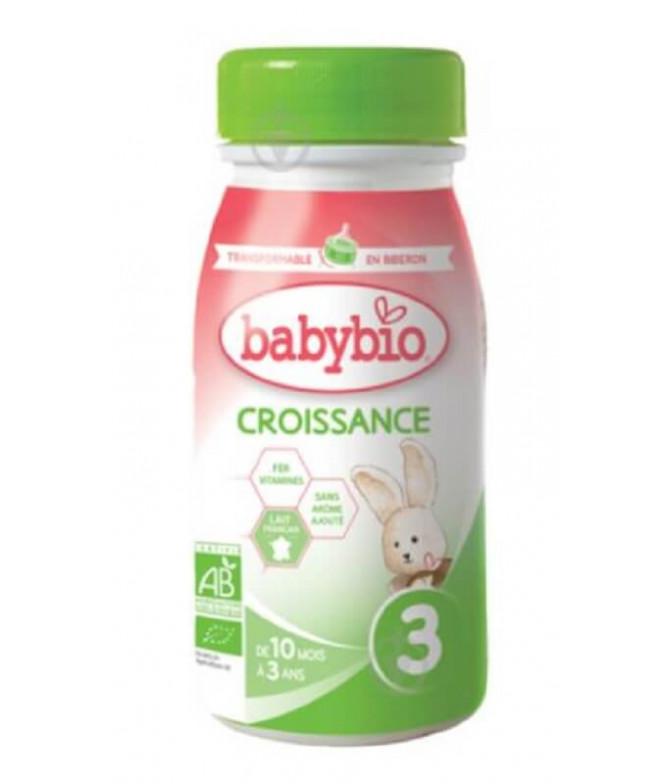 Babybio Leite Crescimento BIO 25cl