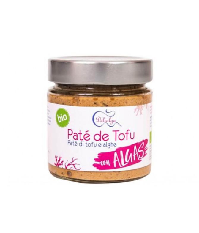 Delialga Paté Tofu Algas BIO 180gr