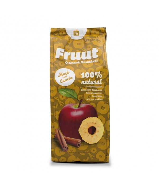 Fruut Snack Chips de Maçã 100% e Canela