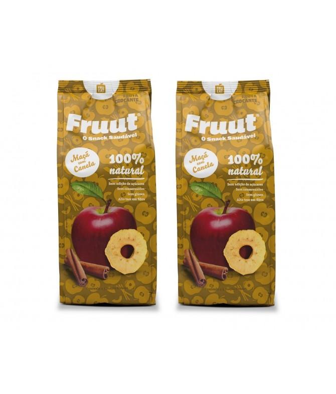 PACK 2 Fruut Chips de Manzana 100% y Canela