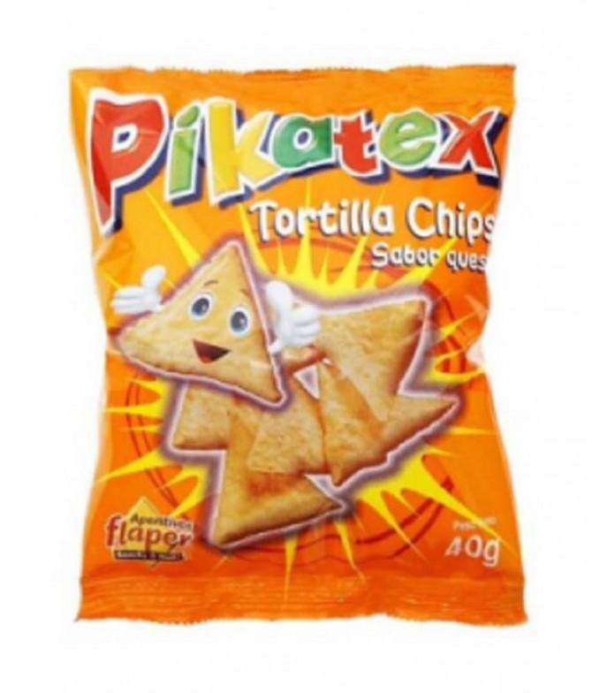 Flaper Piratex Tortilha Chips Queijo 40gr