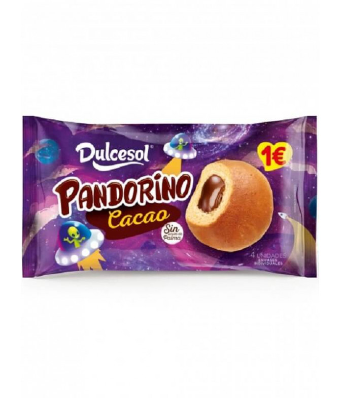 Dulcesol Pandorino Cacao 4un T