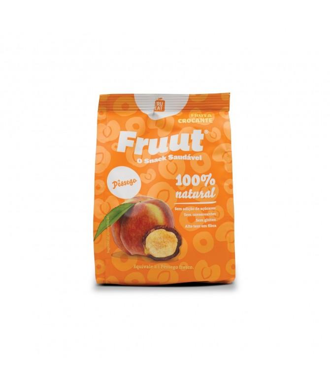 Fruut Snack Chips 100% Pêssego 20gr
