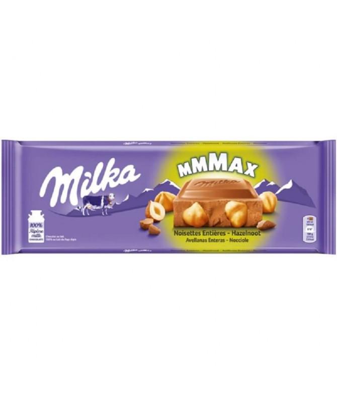 Milka Chocolate Leite Avelã Inteira 270gr