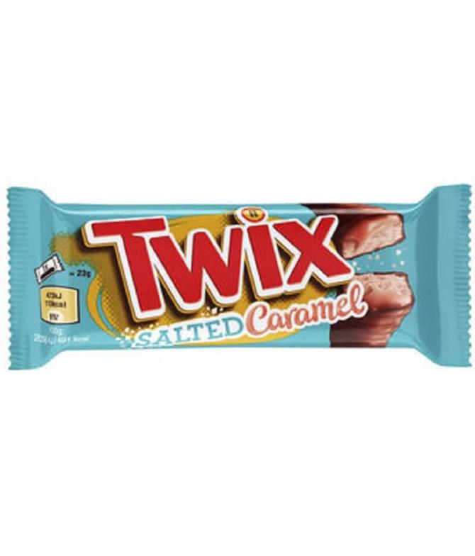 Twix Chocolate Caramelo Salgado 2x23gr