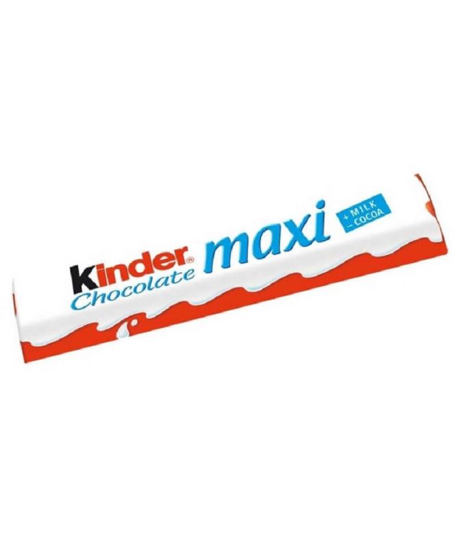 Kinder Maxi Chocolate Leche 21gr