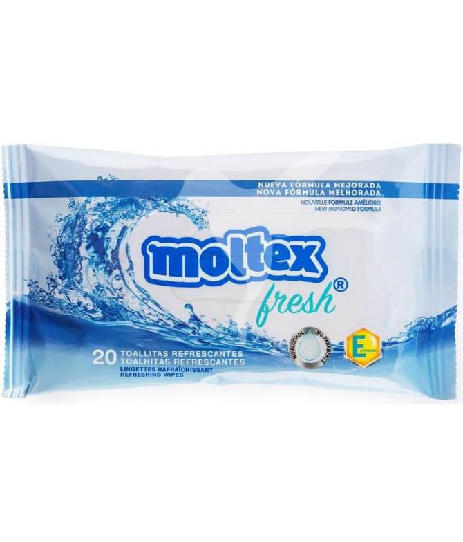 Moltex Toallita Refrescante 20un T