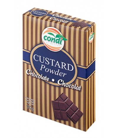 Preparado para Creme Custard de Chocolate 90gr