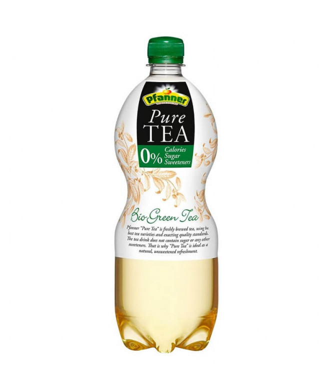 Pfanner Pure Tea Chá Verde BIO 1L