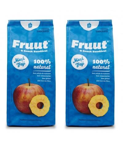 PACK 2 Fruut Snack Chips de Maçã Fuji 100%