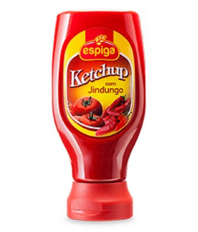 Espiga Ketchup Jindungo Bocabajo 250gr T