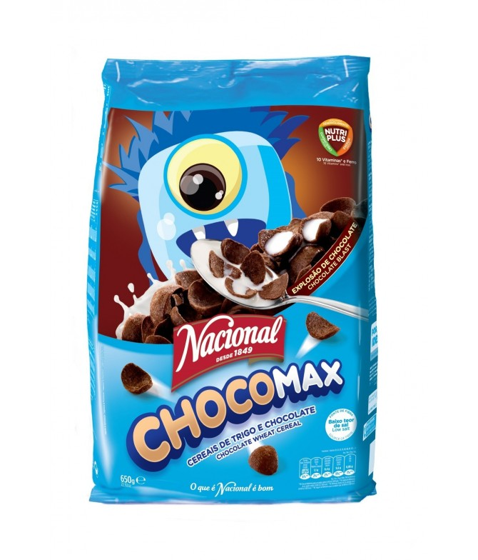 Cereales Chocomax 650 gr