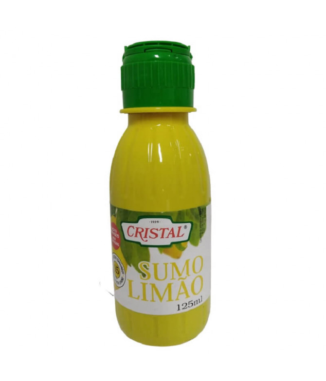 Cristal Zumo Limón 125ml T
