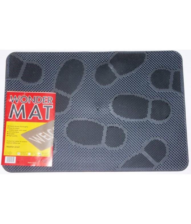 Tapete de Borracha DESENHO PEGADA Wonder Mat 40x60cm