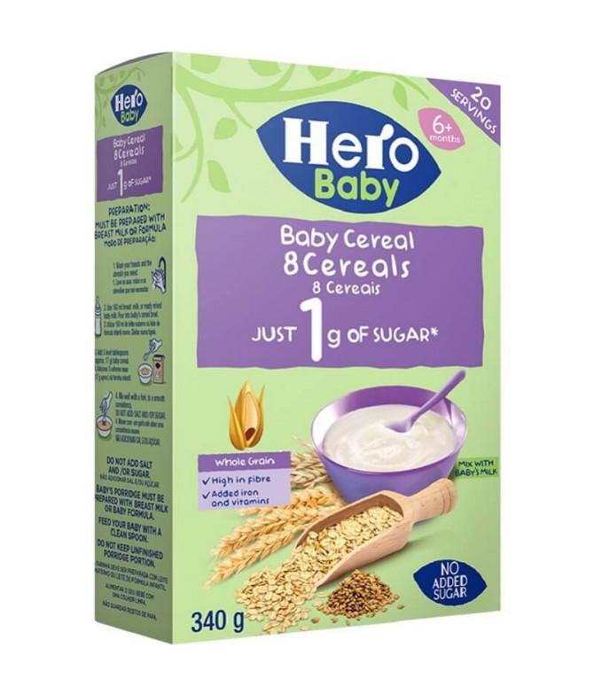 Hero Baby Farinha 8 Cereais 340gr