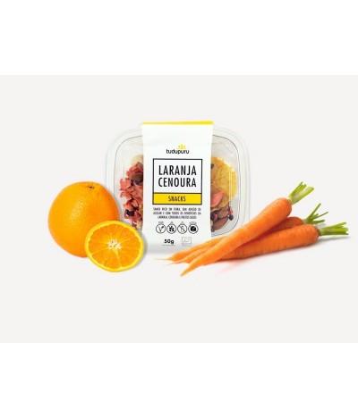 Snack BIO de Cenoura e Laranja tudupuru 50 gr