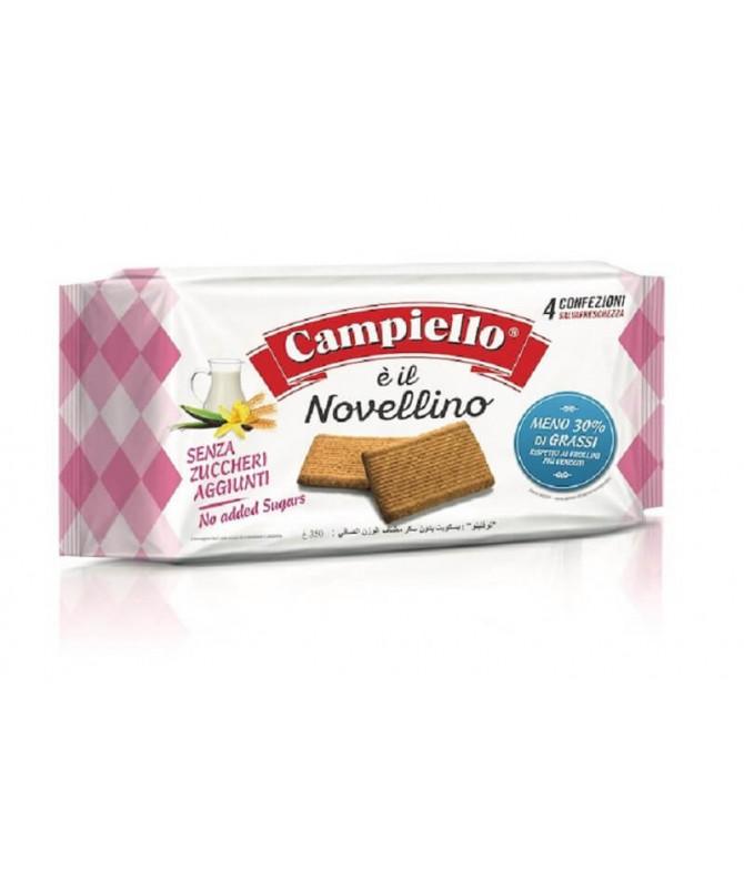 Campiello Novellino Bolacha Sem Açúcar 350gr