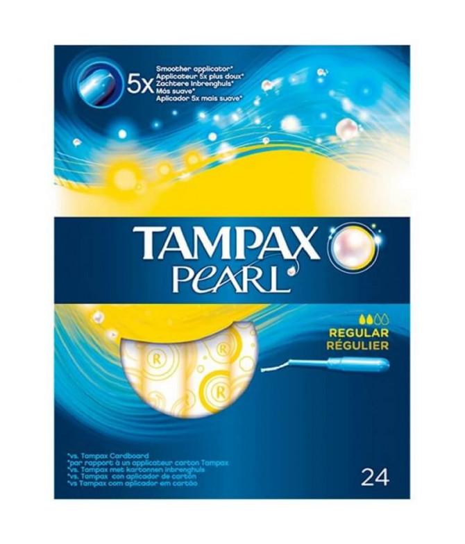 Tampax Pearl Regular 24un