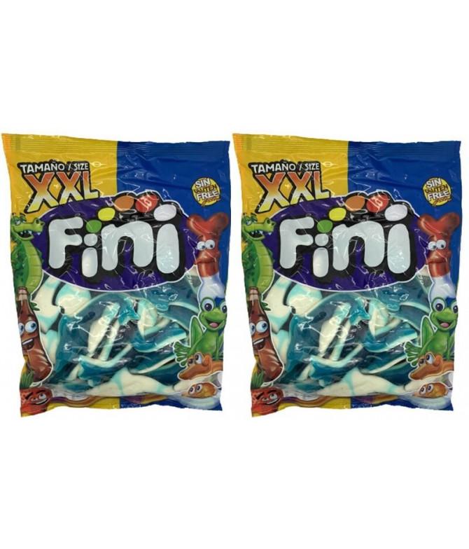PACK 2 Fini Gomas Golfinho Azul XXL 1Kg