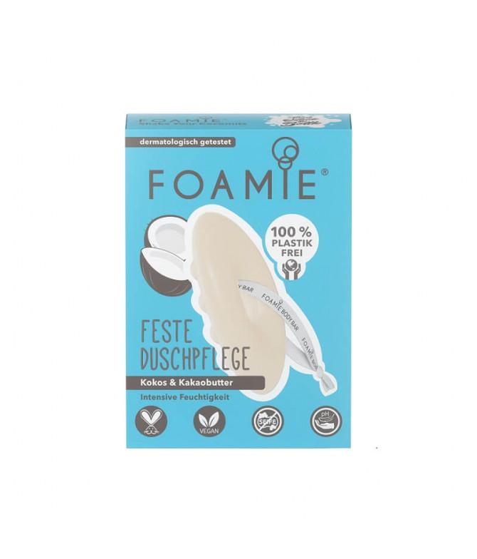 Foamie Gel Baño Sólido Coco Manteca Cacao 80gr T