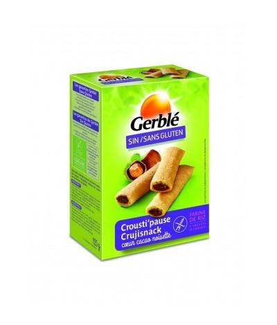 Biscoitos recheados de Chocolate e Avelã SEM GLÚTEN CrujiSnacks
