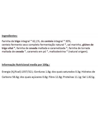 MaBaker Farinha Pão Preto Integral 500gr
