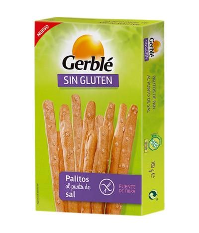 Palitos de Pan al Punto Sal SIN GLUTEN Gerblé