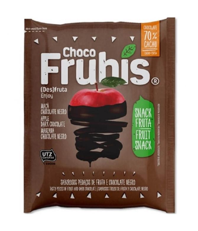 Frubis Manzana Chocolate Negro 25gr T