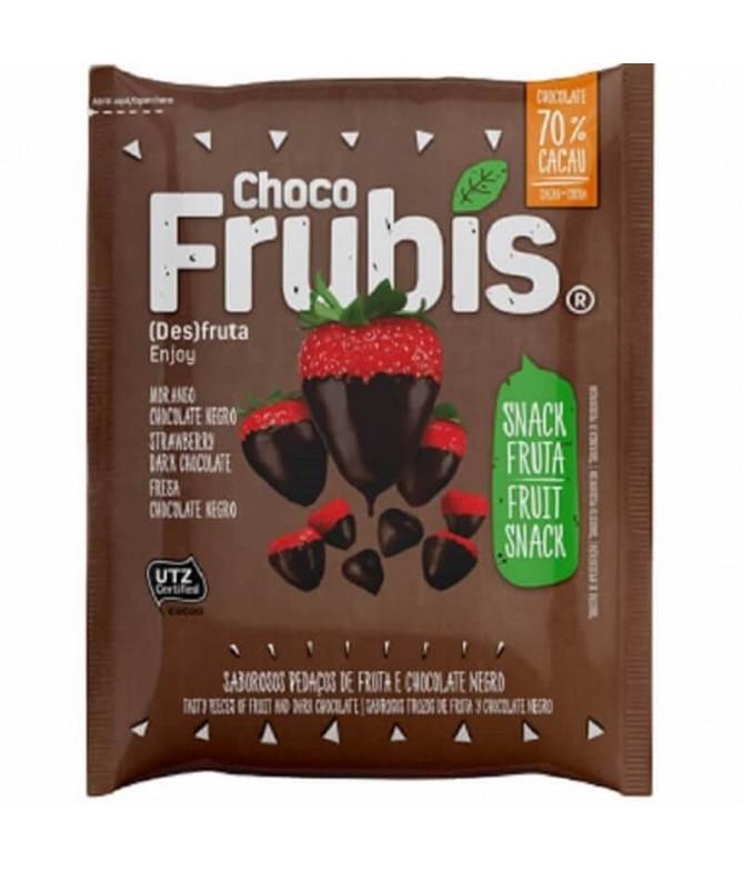 Frubis Fresa Chocolate Negro 25gr T