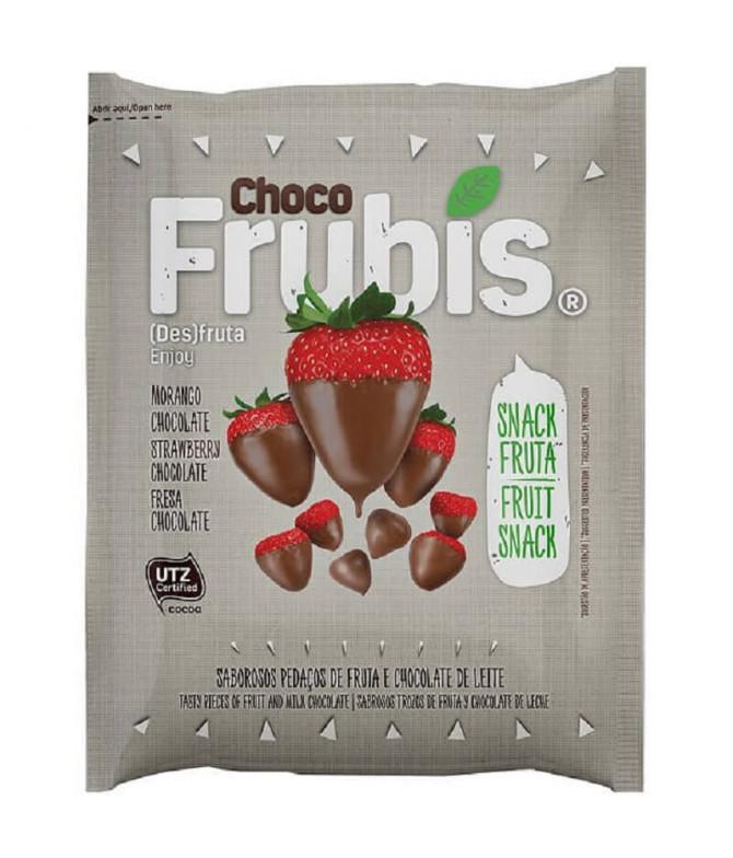 Frubis Fresa Chocolate Leche 25gr T