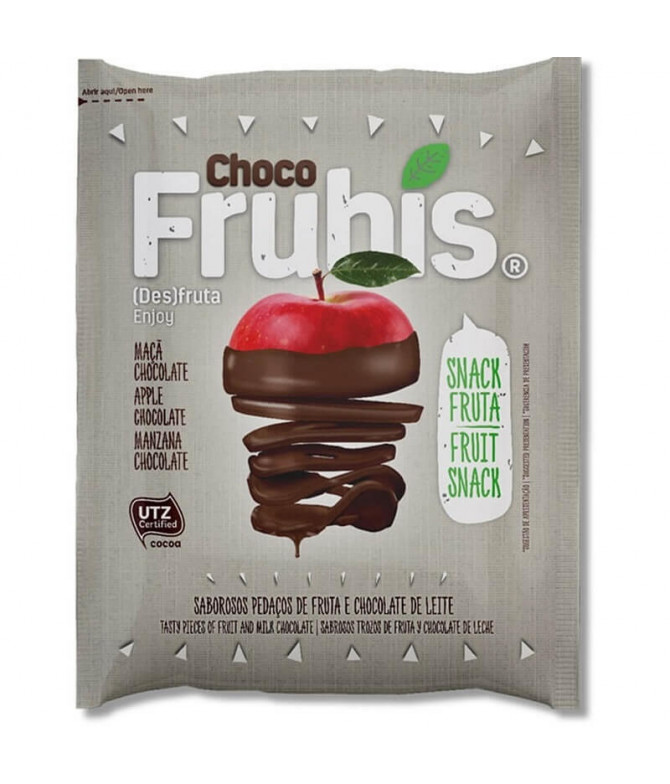 Frubis Manzana Chocolate Leche 25gr T