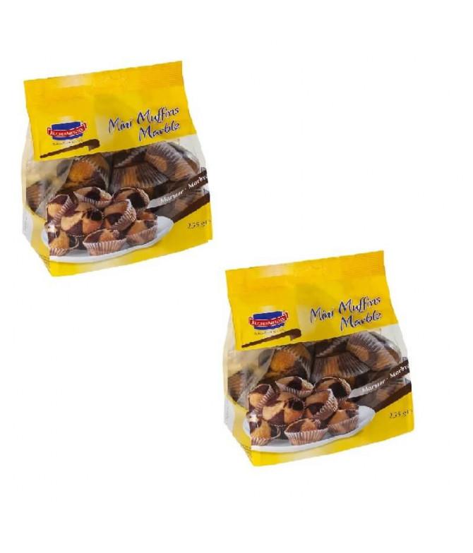 PACK 2 Kuchen Meister Mini Muffins Mármore 255gr T