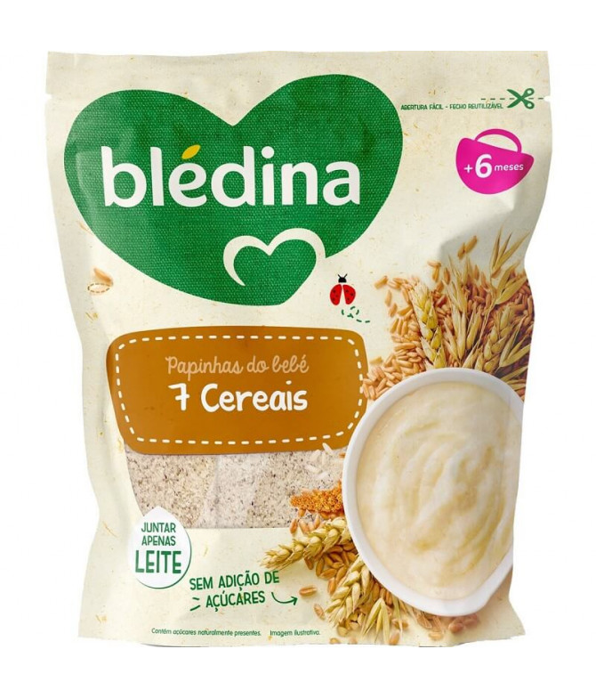 Blédina Papa 7 Cereais 200gr