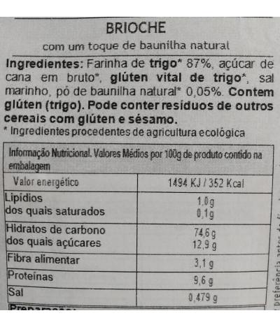 MaBAKER Farinha Pão Brioche BIO 500gr